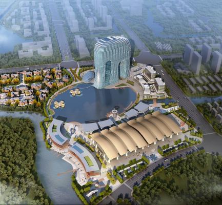 大象酒店国际会展中心及南林大桥同步开工